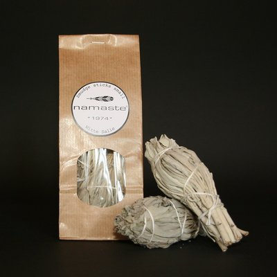 Namaste - Smudge Sticks Small: Witte Salie