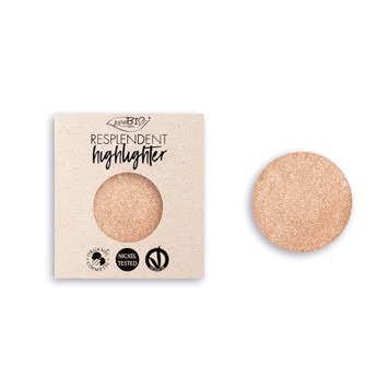 puroBIO - Refill: Shimmer Highlighter Champagne 01