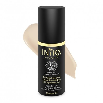 INIKA - Liquid Foundation: Porcelain
