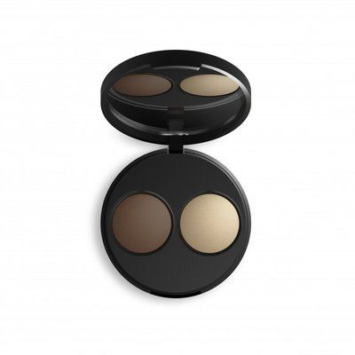 INIKA - Baked Mineral Contour Duo: Teak