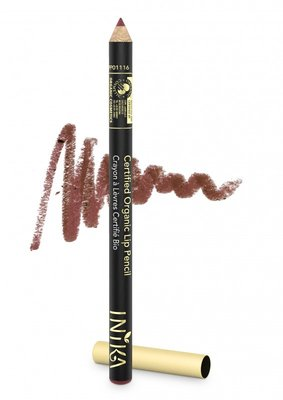 INIKA - Biologische Vegan Lip Pencil: Moroccan Rose