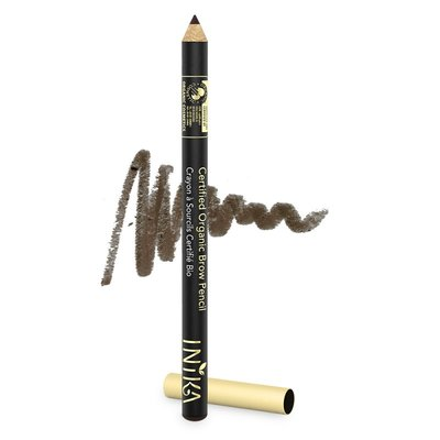 INIKA - Vegan Organic Brow Pencil: Dark Brunette