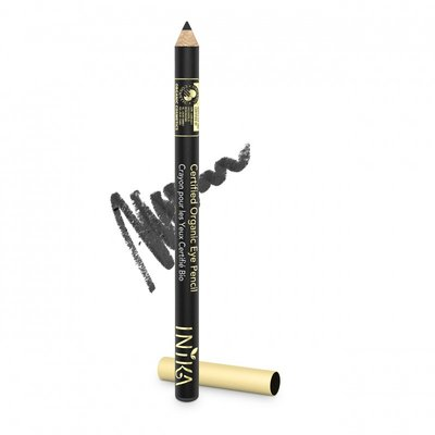 INIKA - Biologische Vegan Eye Pencil: Black Caviar