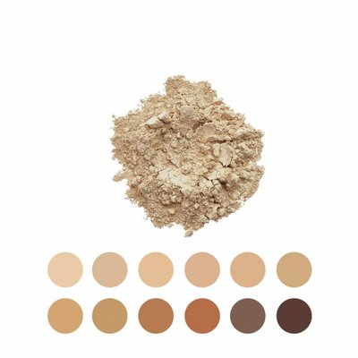 INIKA - Loose Mineral Foundation SPF 25 MINI