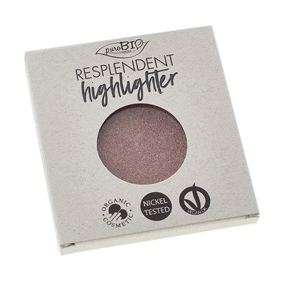 puroBIO - Refill: Shimmer Highlighter Golden Pink 04