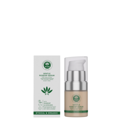 PHB Ethical Beauty - Gentle Range Face & Eye Serum: Rosehip & Avocado
