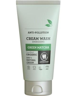 Urtekram - Cream Wash: Green Matcha