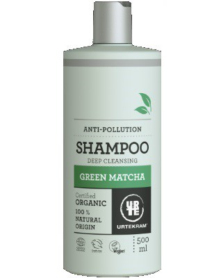 Urtekram - Deep Cleansing Shampoo: Green Matcha 500 ml