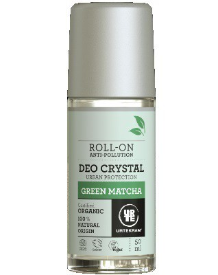 Urtekram - Deodorant Crystal Roll On: Green Matcha
