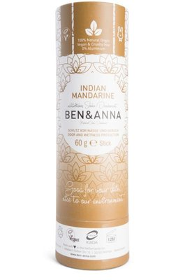 Ben & Anna - Natuurlijke Deodorant Push Up: Indian Mandarine