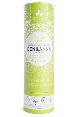 Ben & Anna - Natuurlijke Deodorant Push Up: Persian Lime
