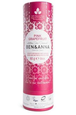 Ben & Anna - Natuurlijke Deodorant Push Up: Pink Grapefruit