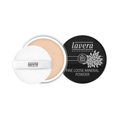 Lavera - Fine Loose Mineral Powder: Ivory 01