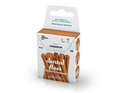 The Humble Co. - Dental Floss: Cinnamon 50 Meter