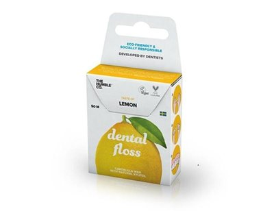 The Humble Co. - Dental Floss: Lemon 50 Meter