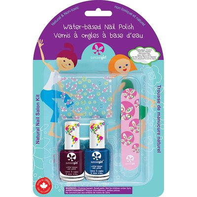 Suncoat Girl - Non Toxic Nagellak Salon Kit: Little Mermaid