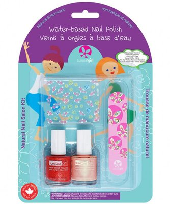 Suncoat Girl - Non Toxic Nagellak Salon Kit: Little Valentine