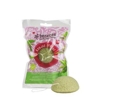 Benecos - Konjac Sponge - Green Tea