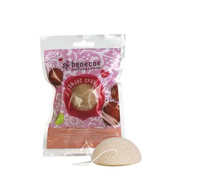 Benecos - Konjac Sponge - Red Clay