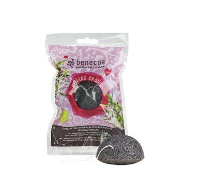 Benecos - Konjac Sponge: Black Bamboo