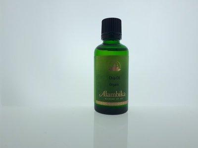 Alambika - Basis olie: Chia Olie Biologisch Gecertificeerd 100 ml