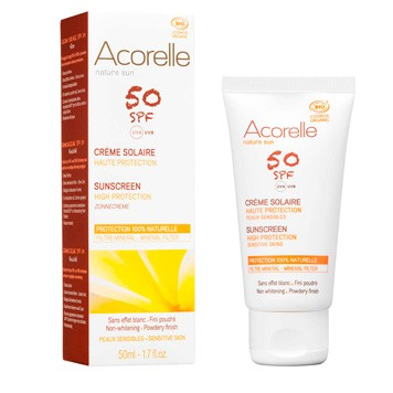 Acorelle - Sunscreen Face SPF 50
