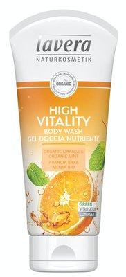 Lavera - Body Wash High Vitality: Organic Orange & Organic Mint