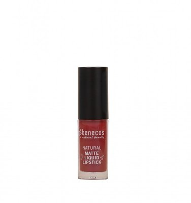 Benecos -  Natural Mat Liquid Lipstick: Bloody Berry