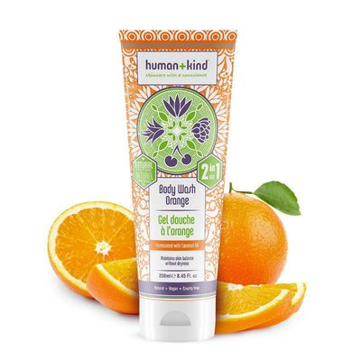 Human+Kind - Shampoo & Body Wash: Orange All-In-One