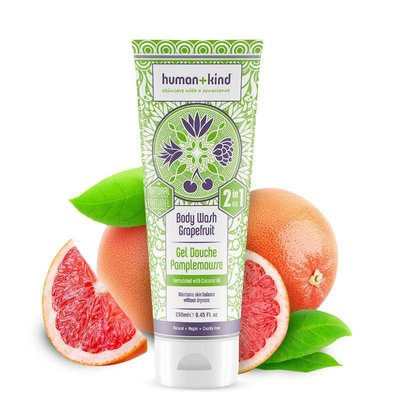 Human+Kind - Shampoo & Body Wash: Grapefruit All-In-One