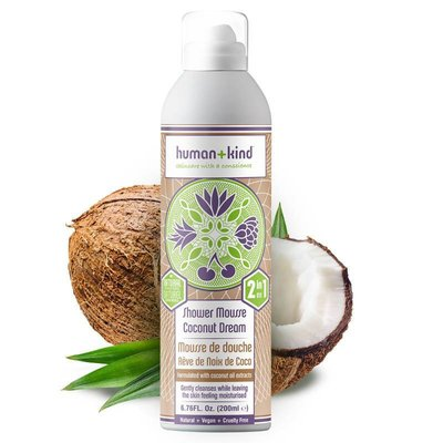 Human+Kind - Shower Mousse: Coconut Dream
