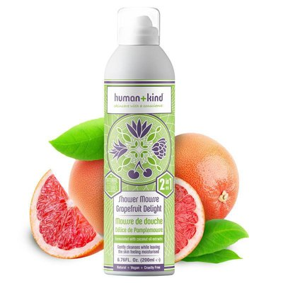 Human+Kind - Shower Mousse: Grapefruit Delight
