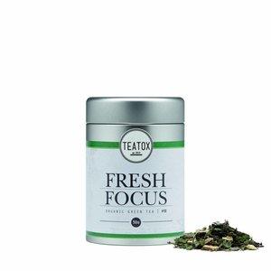 Biologische losse thee voor focus