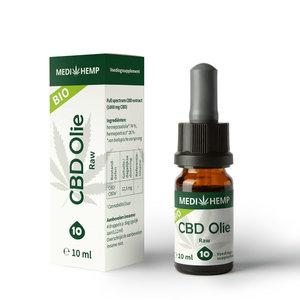 Raw CBD olie | Biologisch