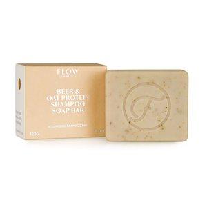 Shampoo bar met bier en haver proteïne | Flow Cosmetics