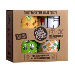 Zacht, sterk en duurzaam toiletpapier | The good roll