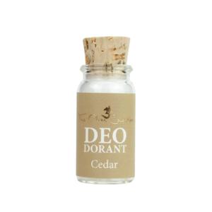 Cedar mini deo poeder | The ohm collection