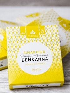 Ontharingspasta Sugar Gold | Ben & Anna