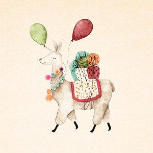 Dubbele kaart: Alpaca | Zintenz