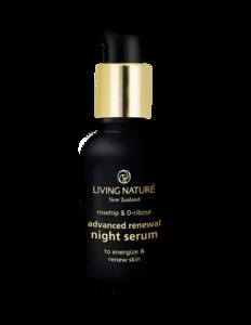 Advanced renewal night serum   Living Nature