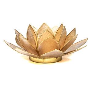 Sfeerlicht lotus   Smoked