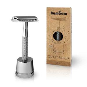 Veiligheidsscheermes zilver | Bambaw