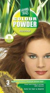 Hazelnut | Plantaardige haarverf