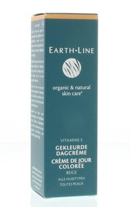 Earth-Line - Gekleurde Dagcrème: Light/Medium