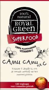 Royal Green - Camu Camu Vitamine C 120 vcaps