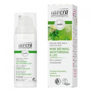 Lavera - Pore Refining Moisturising Fluid: Organic Mint