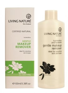 Living Nature - (Oog) Make-up Remover