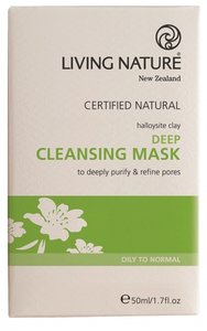 Living Nature - Deep Cleansing Mask