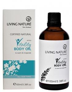 Vitality body oil | Living Nature