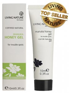 Living Nature - Rescue Gel: Manuka Honey Gel 10 ml